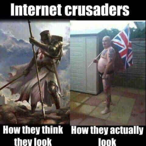 Internet Crusaders How they look