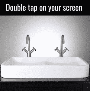 Double tap on your screen memes