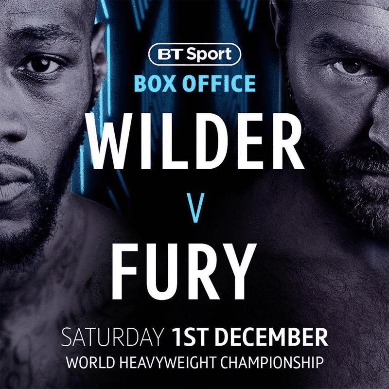 Tyson Fury Deontay Wilder Fight Date