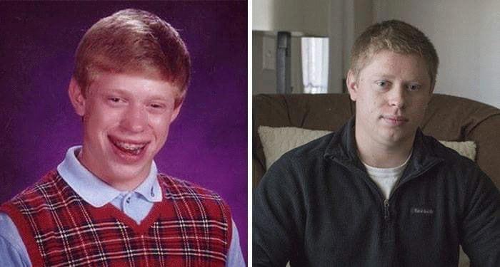 Bad Luck Brian Meme Kid Now