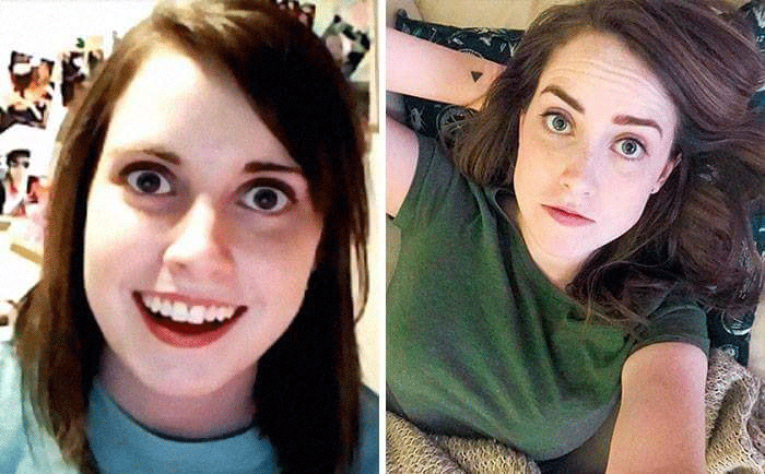 Laina Morris Overly Attached Girlfriend Meme Stars