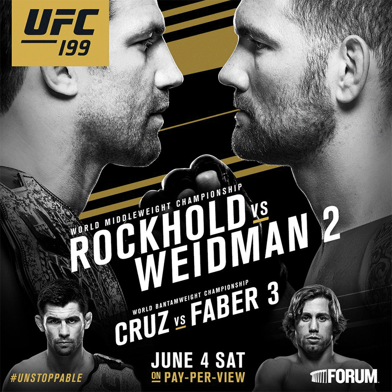 Luke Rockhold vs Chris Weidman UFC 230 Cancelled