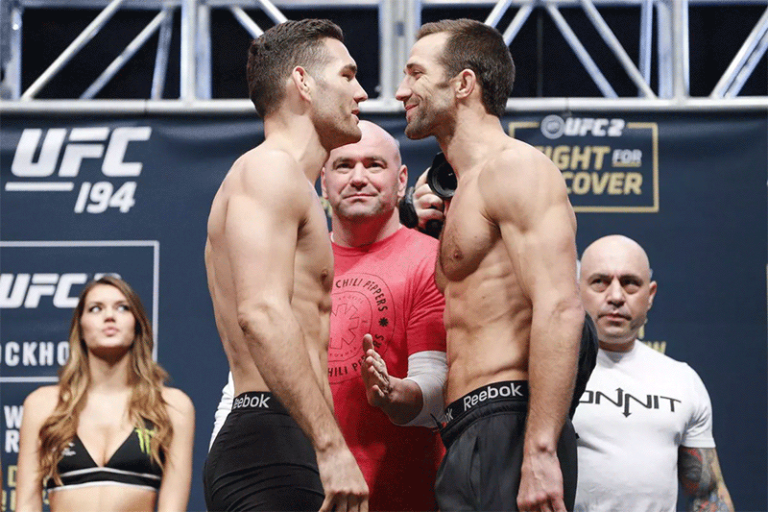 Rockhold vs Weidman II at UFC 230 cancelled due to injury