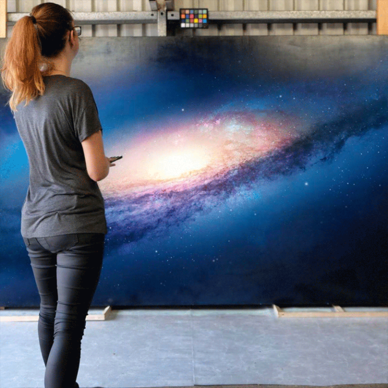 Photorealistic Paintings of Space that you will think are real
