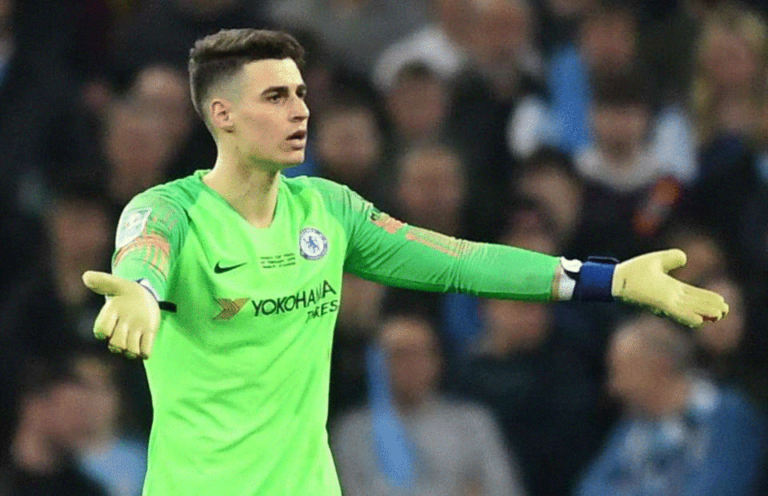 Kepa Arrizabalaga Refuses Substitution in Cup Final Game