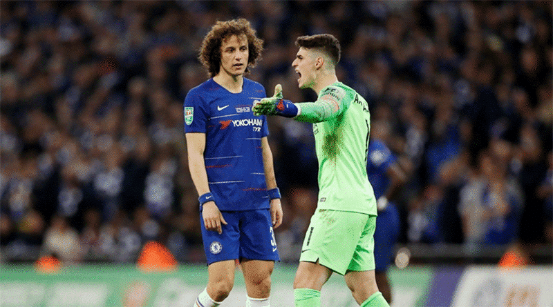 Kepa Arrizabalaga Refuses Substitution