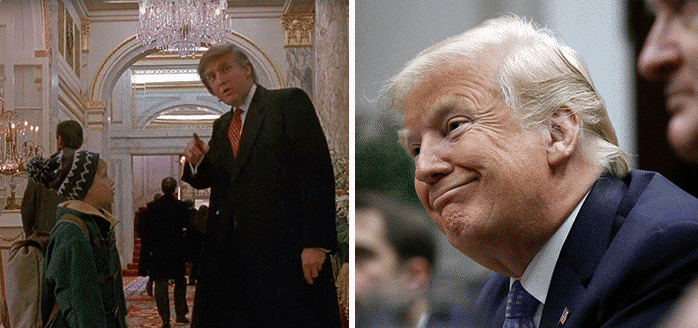 Donald Trump in Home Alone