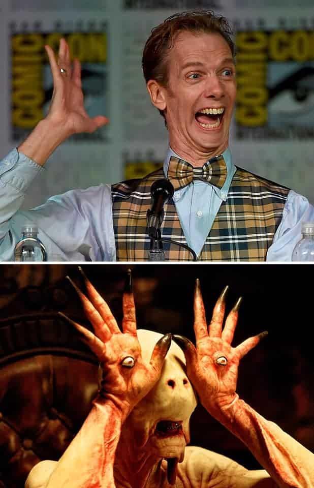 Doug Jones Pale Man Pans Labyrinth