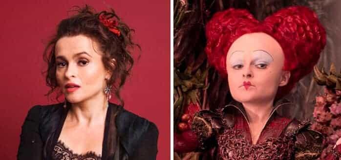 Helena Bonham Carter Red Queen Alice Through The Looking Glass