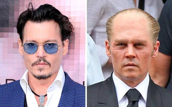Johnny Depp James Whitey Bulger Black Mass
