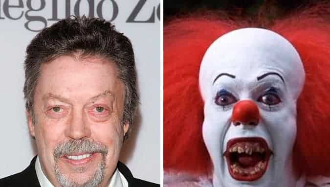 Tim Curry Pennywise It 1990