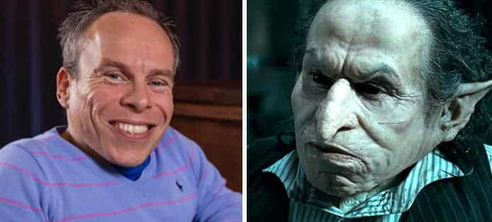 Warwick Davis Griphook Harry Potter And The Deathly Hallows Part 2