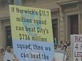 Norwich City Climate Change Protest Melbourne