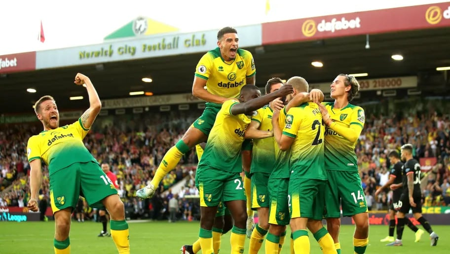 Norwich City defeat Man City