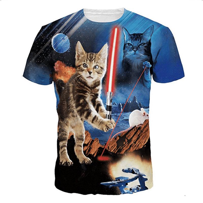 Star Wars cat t-shirt
