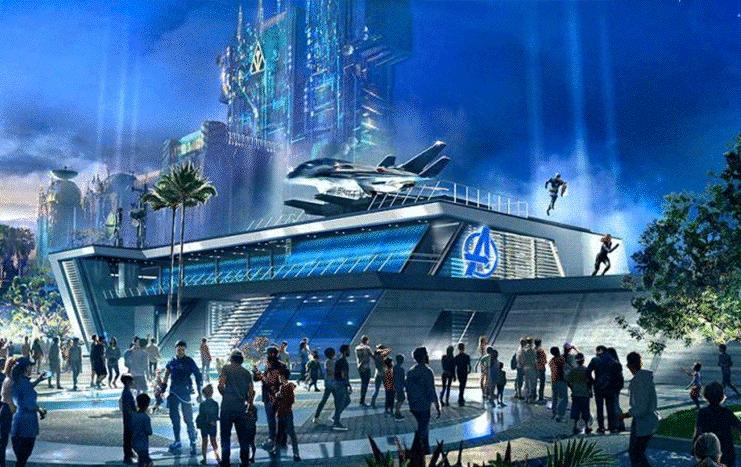 avengers headquarters at disneyland