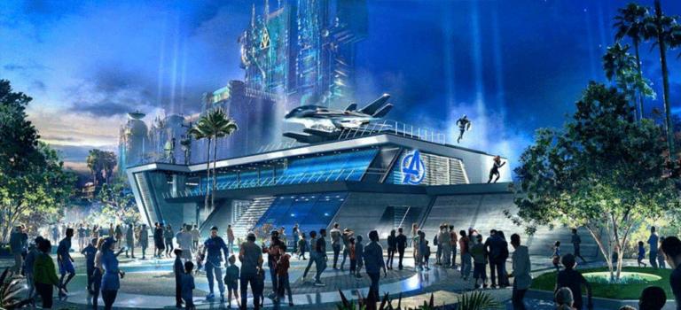 Disneyland California opens Avengers Campus this Summer