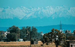 himilayas visible from punjab