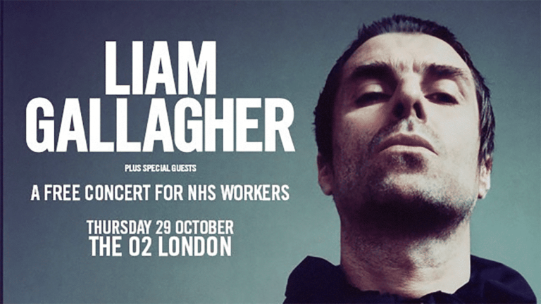 Liam Gallagher announces free concert for NHS workers