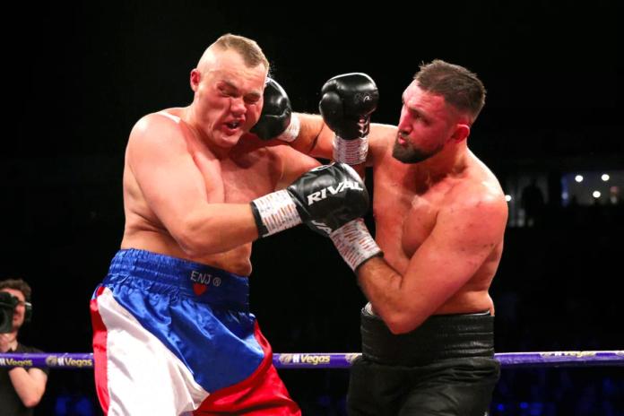hughie fury vs dave allen matchroom boxing