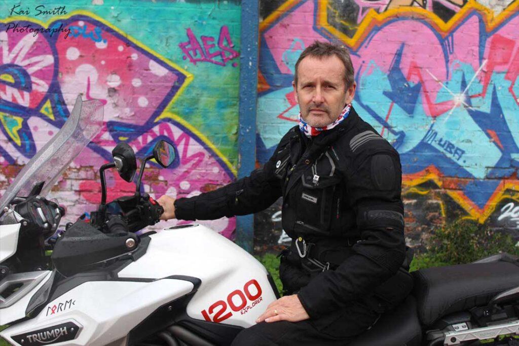andrew harrison motorvelo rider training