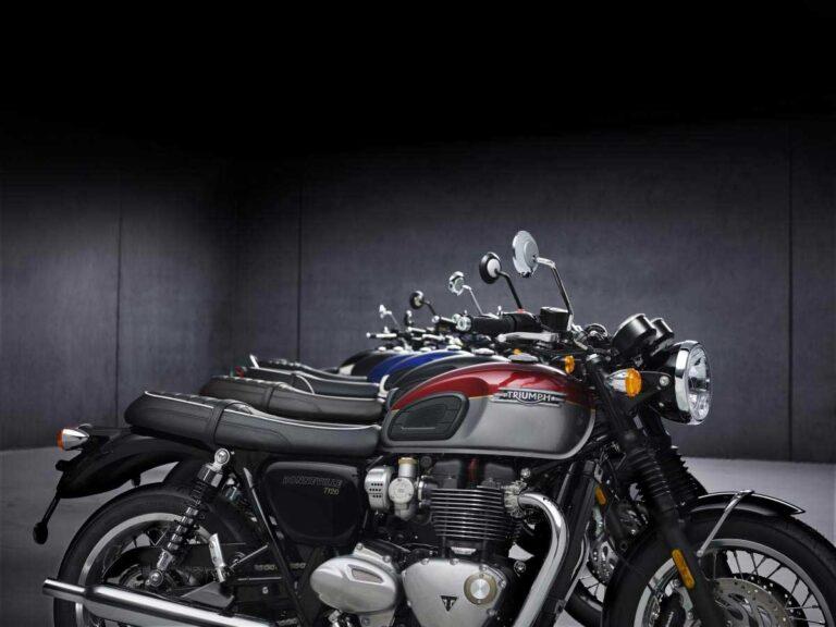 Triumph Bonneville 2021 unveiled