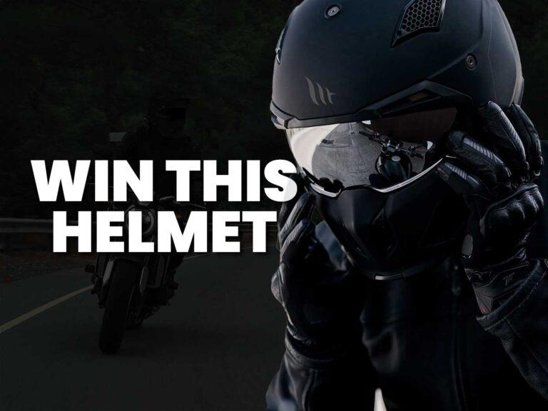 Free to enter: Motorcycle Helmet Giveaway