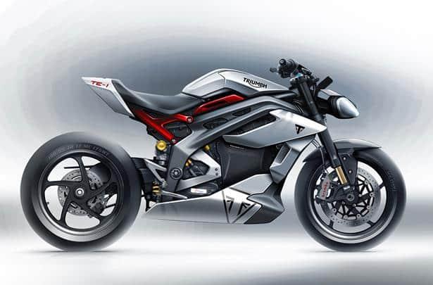 triumph te-1 motorbike