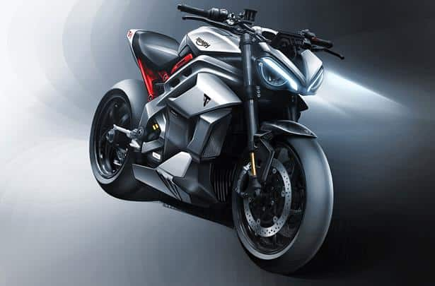 triumph te-1 electric motorcycle