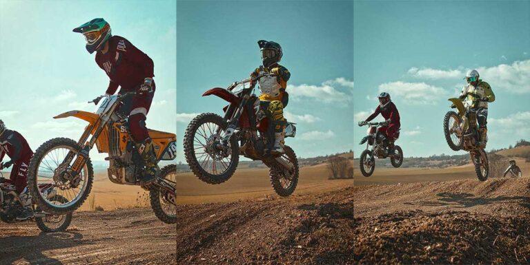 Photographer captures fun in the sun at motocross practice
