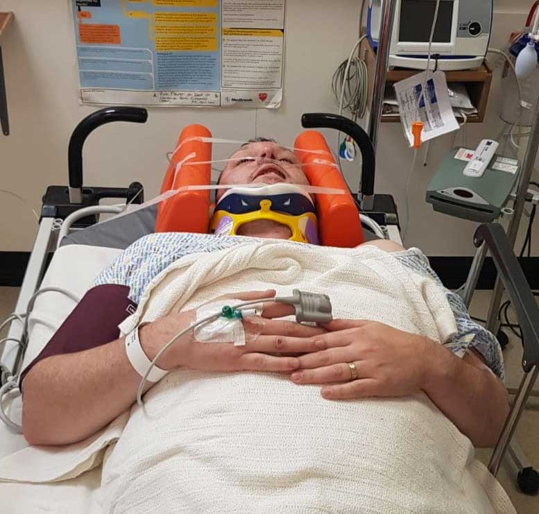 motorcycle accident mark stevenson