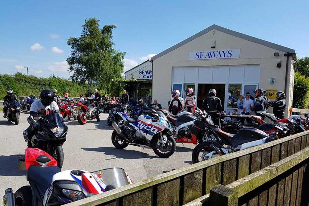 seaways biker cafe yorkshire