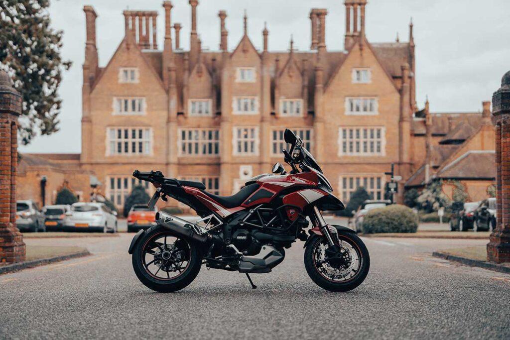 ducati adventure motorbike