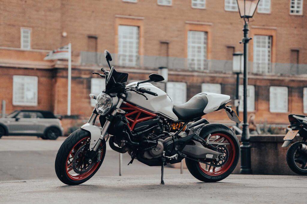 ducati monster 821 motorbike