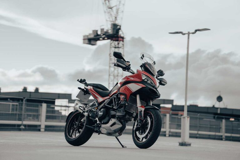 Ducati Multistrada 1200 V-Twin Motorcycle Review