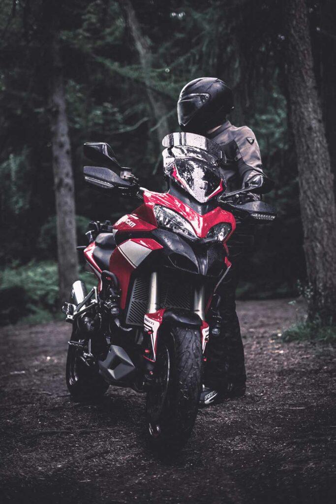 ducati multistrada off road motorcycle