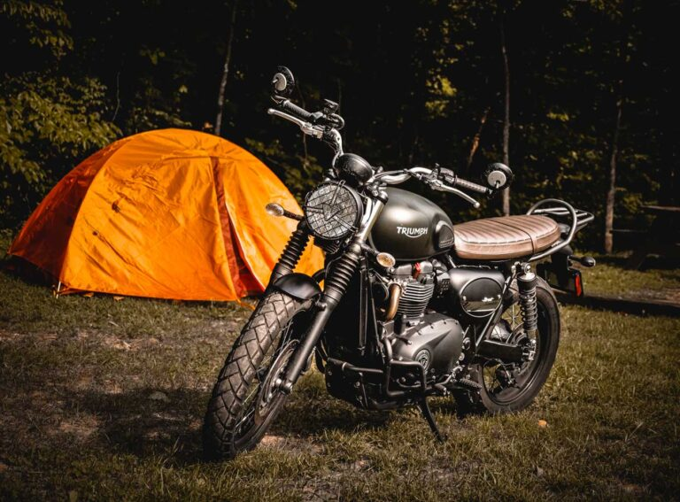 Biker Haven – The first motorcycle only campsite in Scotland